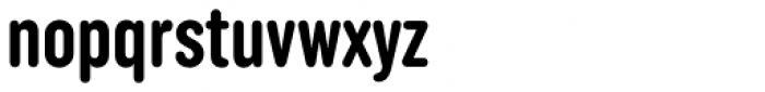 Uniform Rounded Extra Condensed Bold Font LOWERCASE