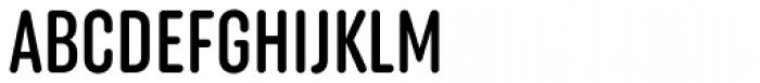 Uniform Rounded Extra Condensed Medium Font UPPERCASE