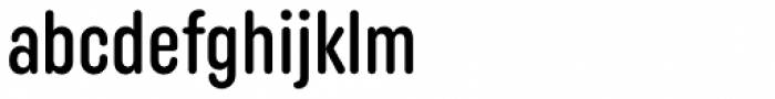 Uniform Rounded Extra Condensed Medium Font LOWERCASE