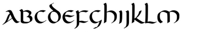 Unikled Bold Font LOWERCASE