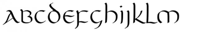 Unikled Font LOWERCASE