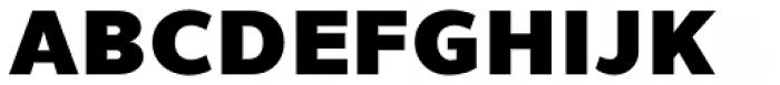 Uniman Black Font UPPERCASE