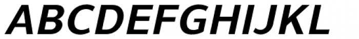 Uniman Bold Italic Font UPPERCASE