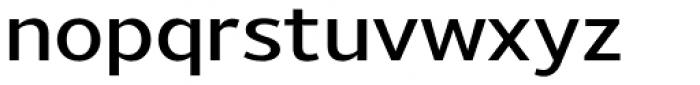 Uniman DemiBold Font LOWERCASE