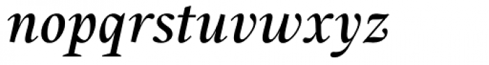 Union Medium Italic Font LOWERCASE