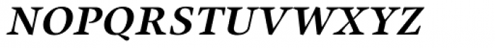 Union Medium Small Caps Italic Font LOWERCASE