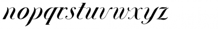 Union Telegraph NF Font LOWERCASE