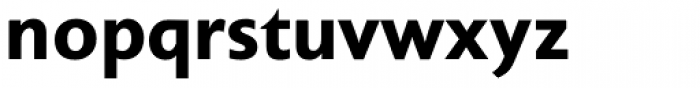 Unita Bold Font LOWERCASE
