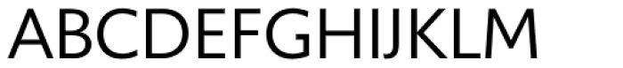 Unita DemiLight Font UPPERCASE