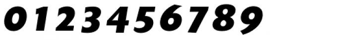 Unita ExtraBold Oblique Font OTHER CHARS