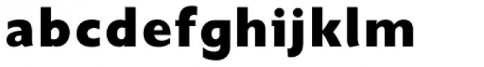 Unita ExtraBold Font LOWERCASE