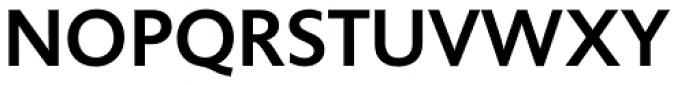 Unita Medium Font UPPERCASE