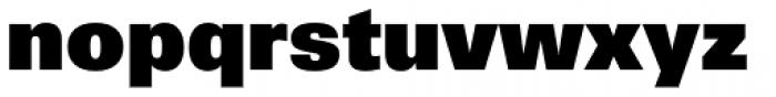Univers 85 ExtraBlack Font LOWERCASE