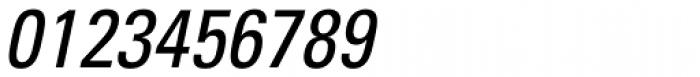 Univers Cond Oblique Font OTHER CHARS
