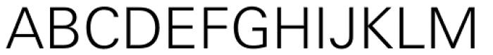 Univers Cyrillic 45 Light Font UPPERCASE