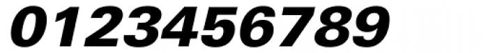 Univers Cyrillic 76 Black Oblique Font OTHER CHARS