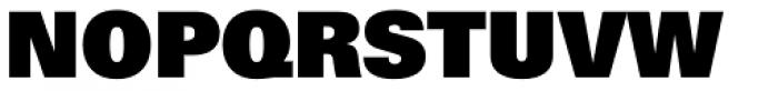 Univers ExtraBlack Font UPPERCASE