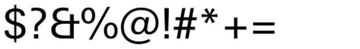 Univers Next Paneuropean W1G 430 Regular Font OTHER CHARS