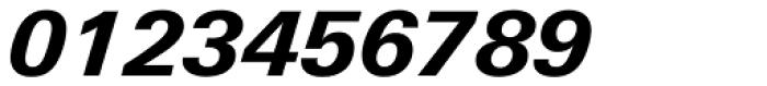 Univers Next Pro 731 Basic Heavy Italic Font OTHER CHARS