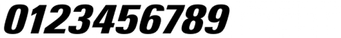 Univers Next Pro 921 Condensed ExtraBlack Italic Font OTHER CHARS