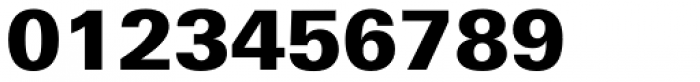 Univers Next Pro Cyrillic 830 Black Font OTHER CHARS