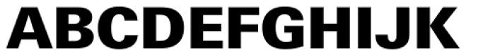 Univers Next Pro Cyrillic 830 Black Font UPPERCASE