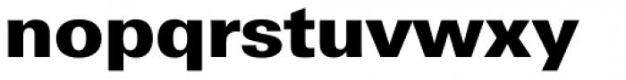 Univers Next Pro Cyrillic 830 Black Font LOWERCASE
