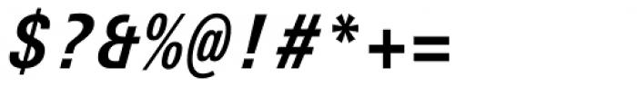 Univers Next Typewriter Pro Bold Italic Font OTHER CHARS