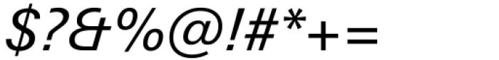 Univers Next Variable Italic Font OTHER CHARS