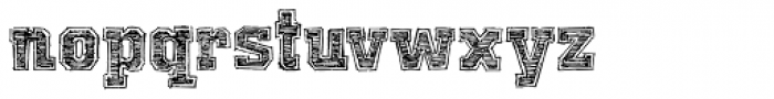 Universal College Draft Font LOWERCASE