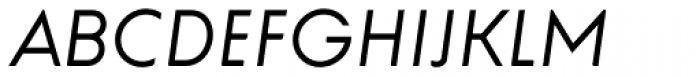 Universal Doomsday Light Italic Font UPPERCASE