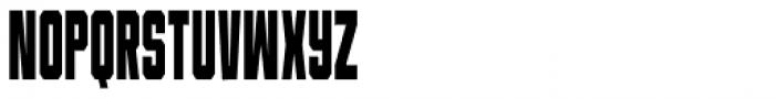 Universitet Narrow 2 Font UPPERCASE