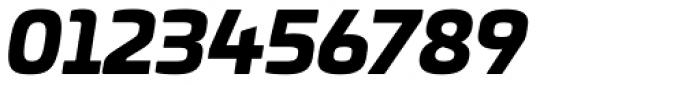 Univia Pro Black Italic Font OTHER CHARS