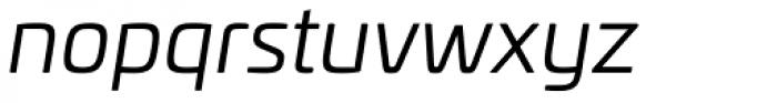Univia Pro Book Italic Font LOWERCASE