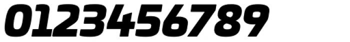 Univia Pro Ultra Italic Font OTHER CHARS
