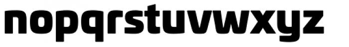 Univia Pro Ultra Font LOWERCASE