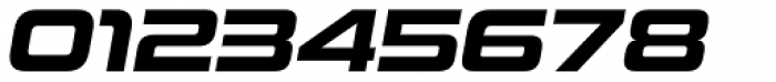 Uniwars Bold Italic Font OTHER CHARS
