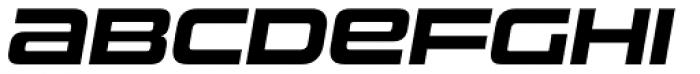 Uniwars Bold Italic Font UPPERCASE