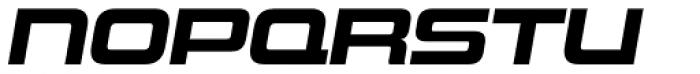Uniwars Bold Italic Font LOWERCASE