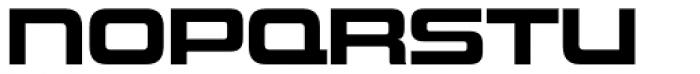 Uniwars Bold Font UPPERCASE