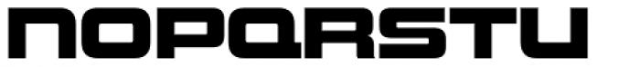 Uniwars Heavy Font LOWERCASE