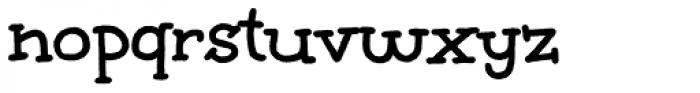 Unkempt Bold Pro Font LOWERCASE