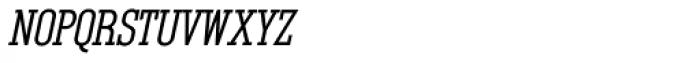 Unknown Caller BTN SC Bold Oblique Font LOWERCASE