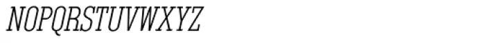 Unknown Caller BTN SC Oblique Font LOWERCASE