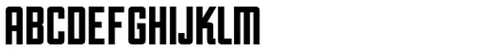 Unovis EF Black XCon Font UPPERCASE