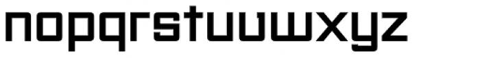 Unovis EF Black Font LOWERCASE