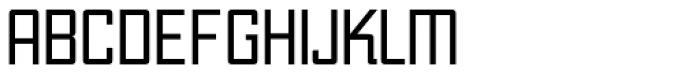 Unovis EF Regular Con Font UPPERCASE