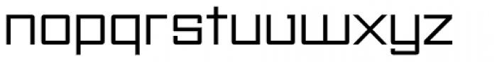 Unovis EF Regular Exp Font LOWERCASE