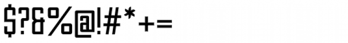 Unovis EF Regular XCon Font OTHER CHARS