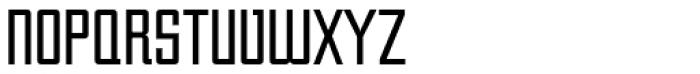 Unovis EF Regular XCon Font UPPERCASE